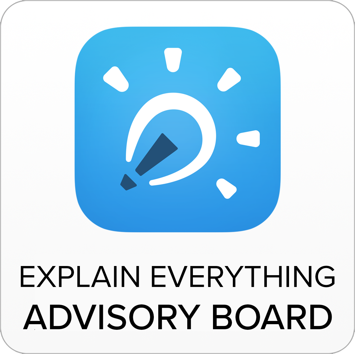 Explain Everything Advisory Board badge
