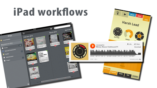 iPad workflows