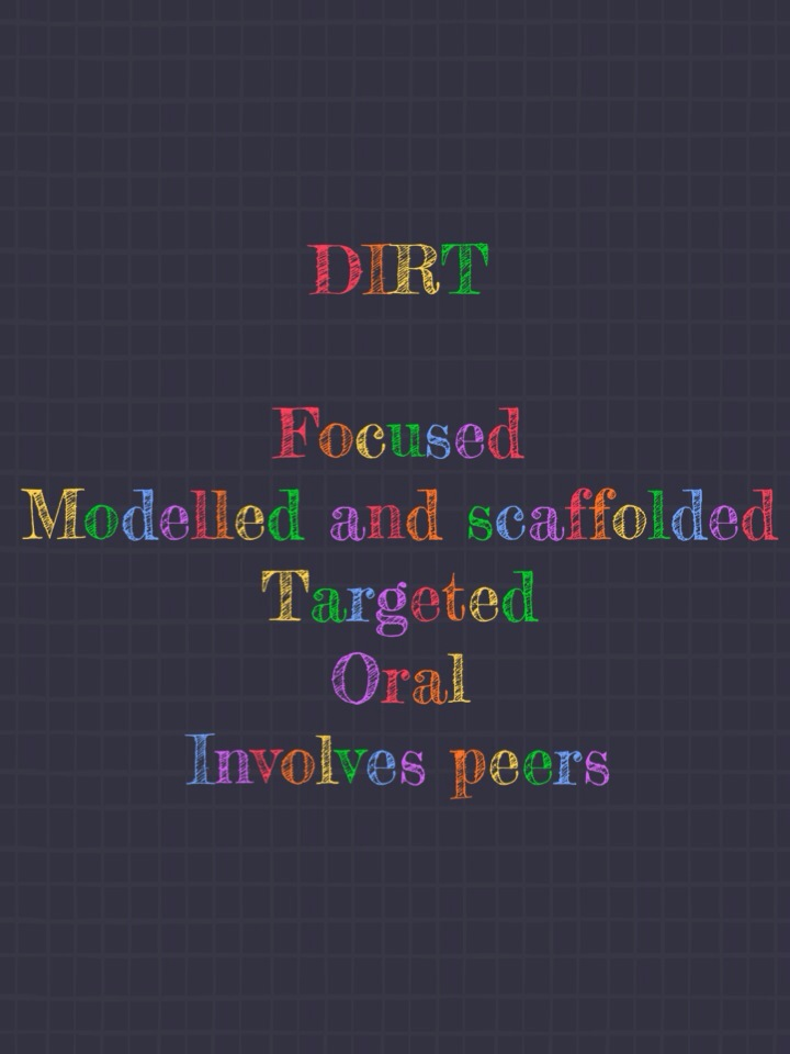 Dirt sections