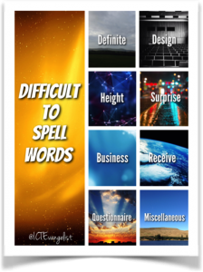 difficulttospellwords