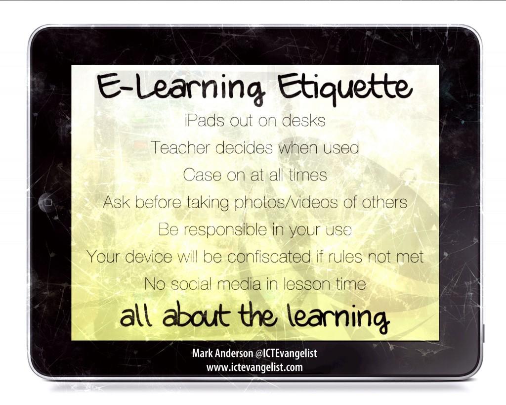 eLearning etiquette