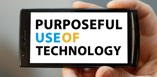 On purposeful use of technology – ICTEvangelist