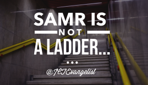 SAMR is not a ladder