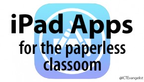 ipad paperless