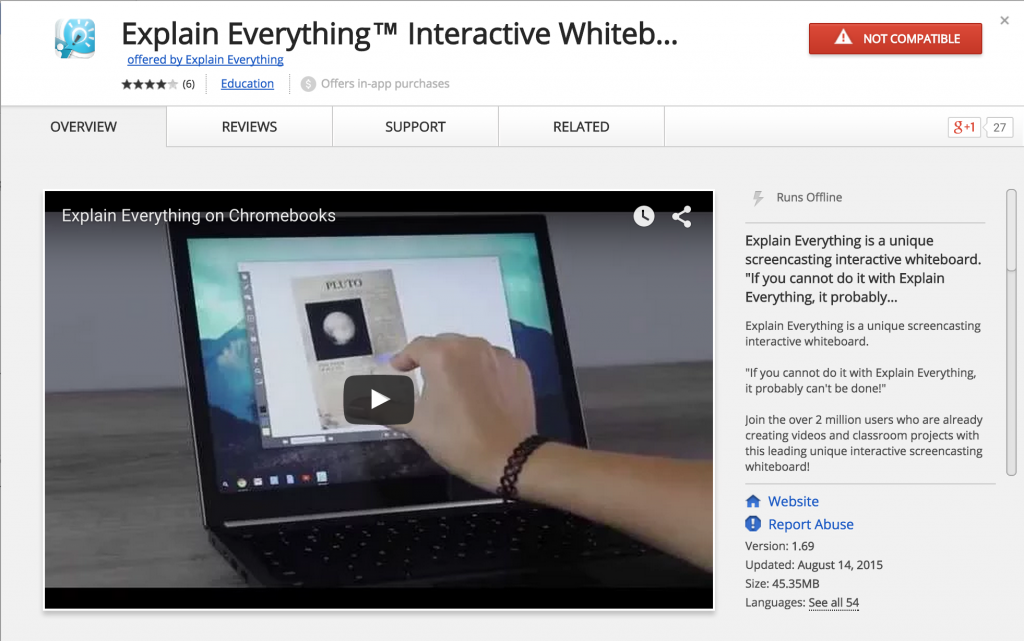 Explain Everything comes to Chromebooks