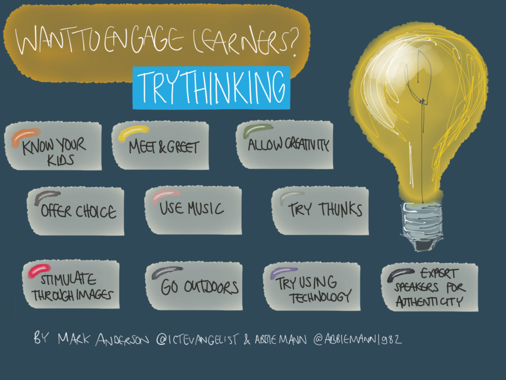 Ways to engage learners