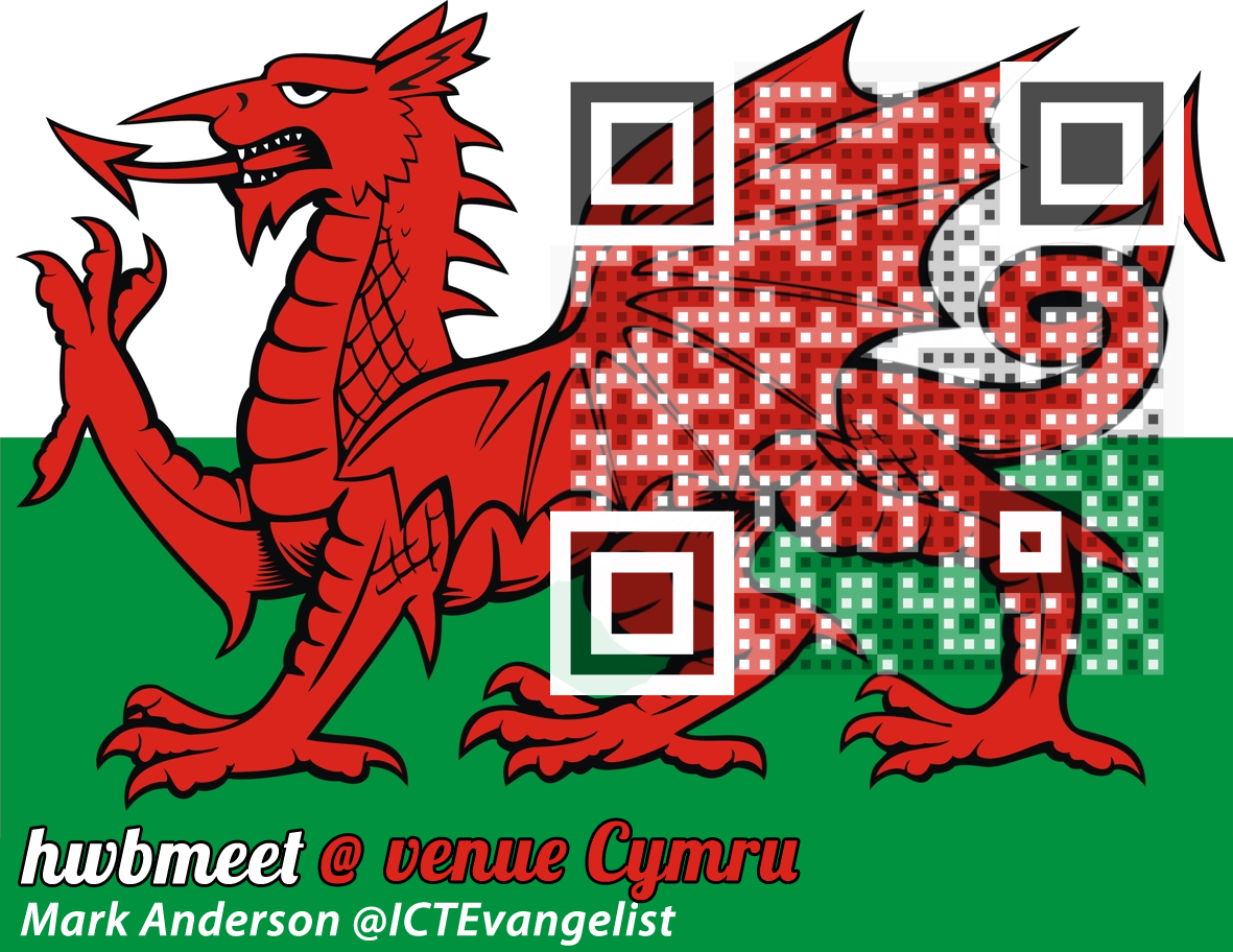 How to embed QR codes in to pictures – ICTEvangelist