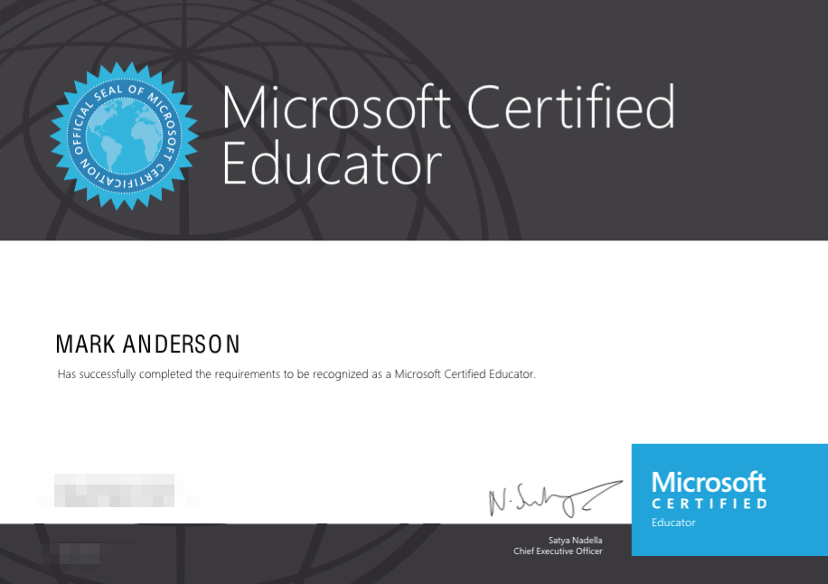 Benchmark your skills, become a Microsoft Certified Educator ...