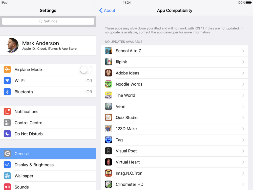 How to find out which apps will no longer work in iOS 11 – ICTEvangelist