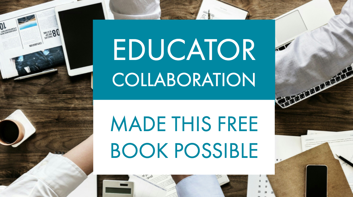 educator collaboration made this free book possible ictevangelist